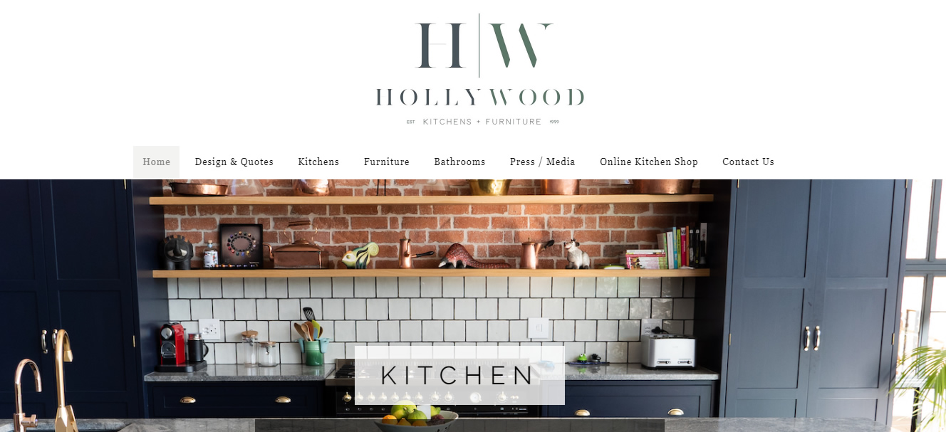 Hollywood Furniture - Web4Business - SEO
